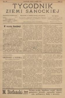 Tygodnik Ziemi Sanockiej. 1911, nr19
