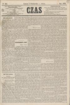 Czas. [R.16], Ner 225 (3 października 1863)