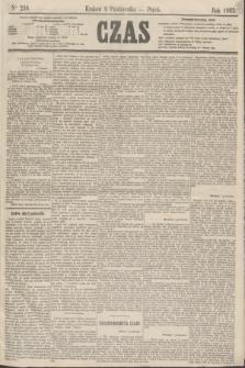 Czas. [R.16], Ner 230 (9 października 1863)