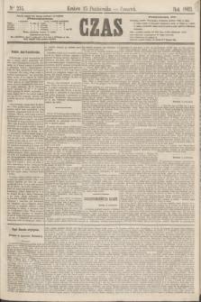 Czas. [R.16], Ner 235 (15 października 1863)