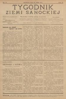 Tygodnik Ziemi Sanockiej. 1911, nr21