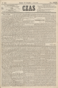 Czas. [R.16], Ner 259 (12 listopada 1863) + dod.