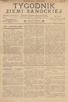Tygodnik Ziemi Sanockiej. 1911, nr23