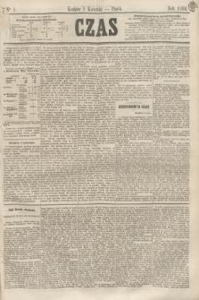 Czas. [R.17], Ner 1 (1 kwietnia 1864)