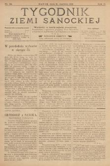 Tygodnik Ziemi Sanockiej. 1911, nr24