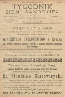 Tygodnik Ziemi Sanockiej. 1911, nr26