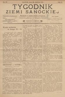 Tygodnik Ziemi Sanockiej. 1911, nr27