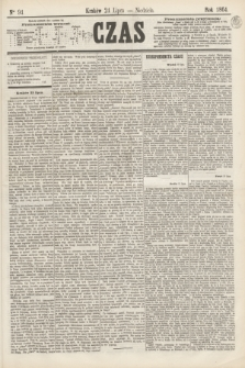 Czas. [R.17], Ner 94 (24 lipca 1864)
