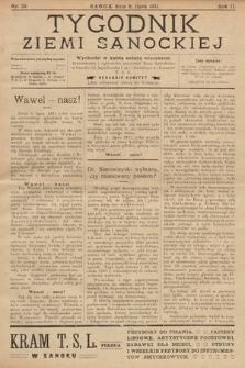 Tygodnik Ziemi Sanockiej. 1911, nr29