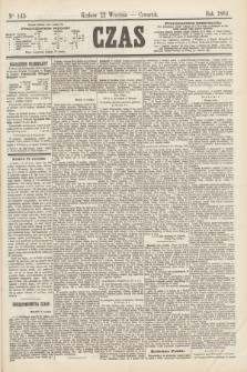 Czas. [R.17], Ner 143 (22 września 1864)