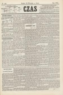 Czas. [R.17], Ner 148 (28 września 1864)