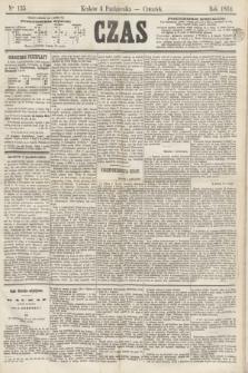 Czas. [R.17], Ner 155 (6 października 1864)