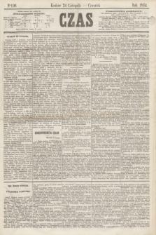 Czas. [R.17], Ner 196 (24 listopada 1864)