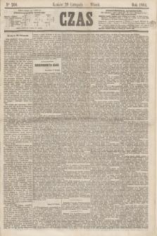 Czas. [R.17], Ner 200 (29 listopada 1864)