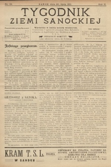 Tygodnik Ziemi Sanockiej. 1911, nr32