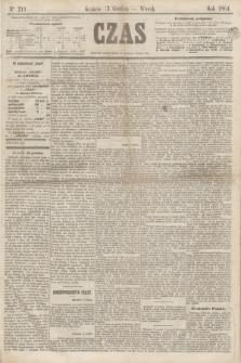 Czas. [R.17], Ner 211 (13 grudnia 1864)
