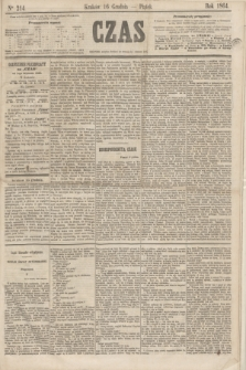 Czas. [R.17], Ner 214 (16 grudnia 1864)