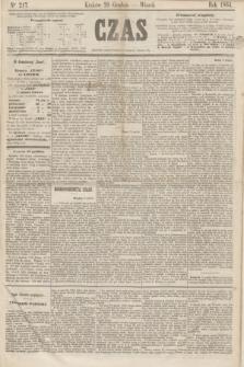 Czas. [R.17], Ner 217 (20 grudnia 1864)