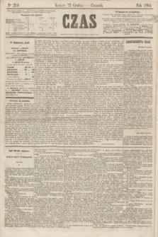 Czas. [R.17], Ner 219 (22 grudnia 1864)