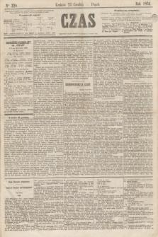 Czas. [R.17], Ner 220 (23 grudnia 1864)