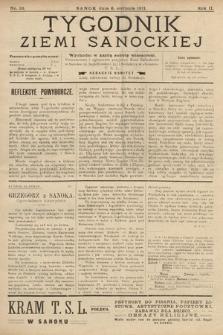 Tygodnik Ziemi Sanockiej. 1911, nr33