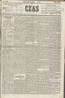 Czas. [R.17], Ner 223 (28 grudnia 1864)