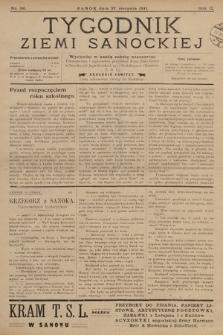 Tygodnik Ziemi Sanockiej. 1911, nr36