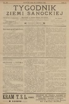 Tygodnik Ziemi Sanockiej. 1911, nr38