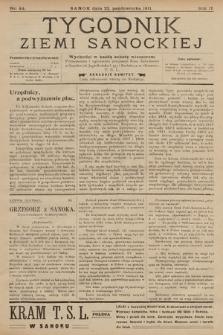 Tygodnik Ziemi Sanockiej. 1911, nr44
