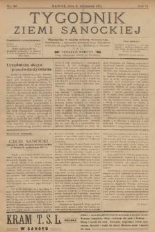 Tygodnik Ziemi Sanockiej. 1911, nr46