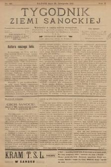 Tygodnik Ziemi Sanockiej. 1911, nr48