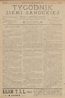 Tygodnik Ziemi Sanockiej. 1911, nr49