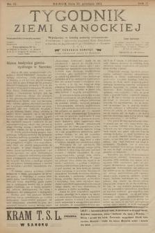 Tygodnik Ziemi Sanockiej. 1911, nr51