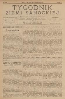 Tygodnik Ziemi Sanockiej. 1911, nr53
