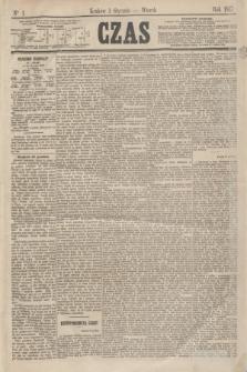 Czas. [R.20], Ner 1 (1 stycznia 1867)