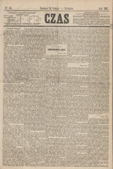Czas. [R.20], Ner 34 (10 lutego 1867) + dod.