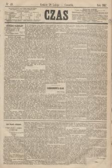 Czas. [R.20], Ner 49 (28 lutego 1867)
