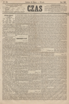 Czas. [R.20], Ner 65 (19 marca 1867)