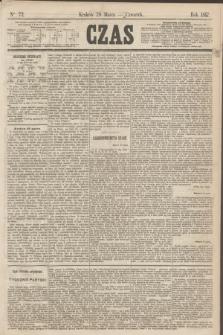 Czas. [R.20], Ner 72 (28 marca 1867)