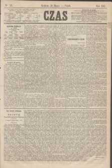 Czas. [R.20], Ner 73 (29 marca 1867)