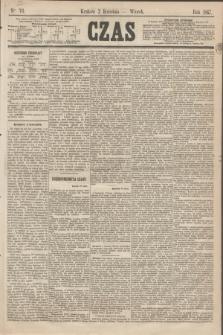 Czas. [R.20], Ner 76 (2 kwietnia 1867)