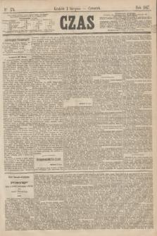 Czas. [R.20], Ner 174 (1 sierpnia 1867)