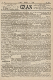 Czas. [R.20], Ner 201 (3 września 1867)