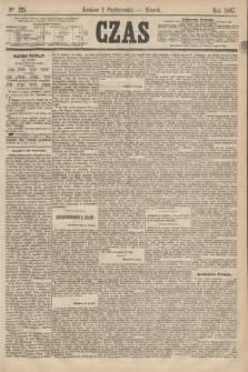 Czas. [R.20], Ner 225 (1 paździenika 1867)