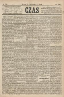Czas. [R.20], Ner 240 (18 października 1867)