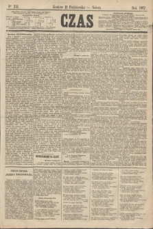 Czas. [R.20], Ner 241 (19 października 1867)