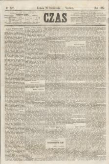 Czas. [R.20], Ner 242 (20 października 1867)