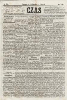 Czas. [R.20], Ner 245 (24 października 1867)