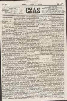Czas. [R.20], Ner 253 (3 listopada 1867)