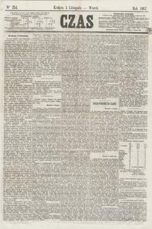 Czas. [R.20], Ner 254 (5 listopada 1867)